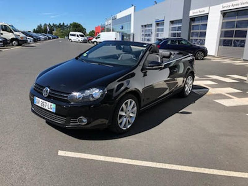 VOLKSWAGEN Golf Cabriolet 2.0 TDI 110ch BlueMotion Technology FAP Carat